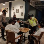 Polisi Patroli Blue Light di Sui Pinyuh, Sosialisasi Penegakan Hukum