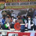 Polisi Ungkap Ada Pabrik Sabu Milik WNA Iran di Tangerang, Sebulan Produksi 20 Kg