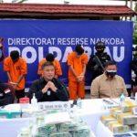 Detik-detik Oknum Perwira Polisi Diringkus Bawa 16 Kg Sabu di Riau