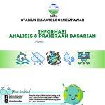 Prospek Iklim Dasarian Kalbar, Update 20 April 2021