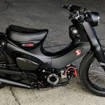 Potret Honda Super Cub Berevolusi Jadi ala Motor Perang, Tampilannya Garang