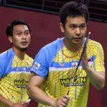 Hendra / Ahsan Tumbang di Final