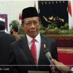 Menko Mahfud MD Akui Perlindungan HAM di Indonesia Belum Memuaskan