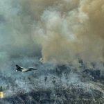 Latihan Pesawat Tempur F-16, TNI AU Sambil Patroli Kebakaran Hutan di Riau