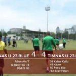 Internal Game Timnas Indonesia U-23 Cetak Delapan Gol