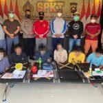 Polsek Delta Pawan Tangkap 7 TSK Tindak Pidana Narkotika di 3 TKP