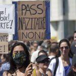 Protes Anti-Vaksin di Prancis, 100 Ribu Warga Demo Turun ke Jalan