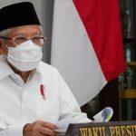 Rapat dengan Ormas Islam, Ma'ruf Amin: Semua Sepakat Salat Iduladha di Rumah
