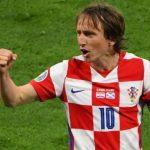 Jadi Aktor Kelolosan Kroasia ke 16 Besar Euro 2020, Luka Modric Belum Habis