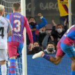 Barcelona vs Granada: Gol Telat Araujo Selamatkan Tim Catalan dari Kekalahan