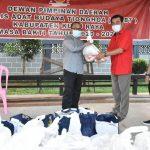 Bantu Warga Terdampak Pandemi, Sujiwo Berikan Bantuan Bahan Pokok