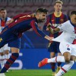 Liga Champions: Barcelona Digilas PSG 4-1, Mbappe Hattrick