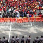 Besok, Polisi Sediakan Tes Covid-19 Antigen saat Massa Buruh Demo May Day