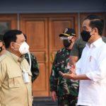 Jokowi Bareng Prabowo Pantau Vaksinasi di Samarinda