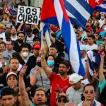 Frustasi Akibat Covid-19 dan Krisis Ekonomi, Ribuan Warga Kuba Protes Turun ke Jalan