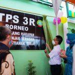 Wali Kota Pontianak Resmikan TPS3R di Banjar Serasan