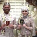 Sah, Kesha Ratuliu dan Adhi Permana Resmi Menikah