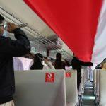Menarik Juga Nih Cara Peringati HUT RI di Dalam Kereta Api