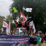 Geruduk Kantor PBB, Presiden KSPI: Israel Harus Hengkang dari Palestina!