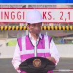 Resmikan Tol Kelapa Gading-Pulo Gebang, Ini yang Dimau Jokowi