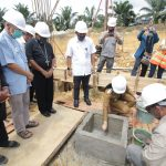 Bupati Landak Letakkan Batu Pertama Pembangunan Rumah Susun Mahasiswa