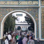 Euforia Lebaran Kembali Terasa di Masjid Agung Sunda Kelapa