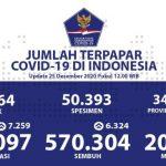 Kasus Positif Corona di Indonesia Tembus 700 Ribu Orang