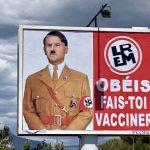 Digambarkan seperti Adolf Hitler, Presiden Emmanuel Macron Layangkan Gugatan