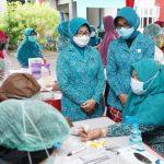 Rapid Tes Gratis untuk Kader Posyandu, Lansia, Remaja dan Kader PKK