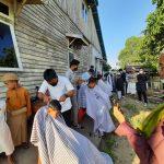 Ramadhan Asyik Bareng Kakun, Cukur Rambut Gratis di Ponpes Ketapang
