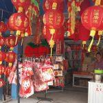 Pandemi COVID-19 Biang Keroknya, Pedagang Pernak Pernik Imlek Sepi Pembeli di Ketapang