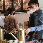 Ekspansi Bisnis Aming Coffee di Tengah Pandemi, kekinian Buka Cabang ke-16 di Siantan
