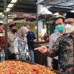 TPID Pontianak Sidak Pasar Tradisional, Mulyadi: Harga Komoditas Pokok Terkendali