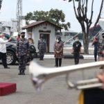 Menko PMK dan Mensos Silaturahmi kepada TNI AL dan ABK KRI Nanggala 402