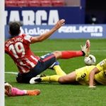 Lini Depan Tumpul, Atletico Berbagi Poin dengan Villarreal di Metropolitano