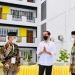Jokowi Tinjau Infrastruktur di Madrasah Muallimin Muhammadiyah Yogyakarta