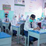 Monitoring PTM Kota Pontianak, Dinkes Uji Swab di Sekolah