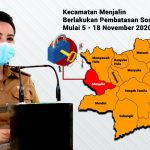 Pemkab Landak Berlakukan Pembatasan Sosial Di Kecamatan Menjalin