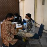 Lantamal XII Turunkan Tim Vaksinator Dukung Vaksinasi Lintas Agama di Pontianak