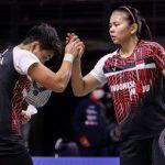 Greysia/Apriyani Terhenti di Semifinal Toyota Thailand Open