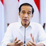 Jokowi Pantau Program Vaksinasi di Lapangan Bhayangkara