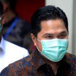 Erick Thohir: Vaksin Merah Putih Baru Tersedia di 2022