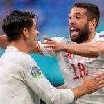 Gol Bunuh Diri Bawa Spanyol Memimpin atas Swiss di Babak Pertama