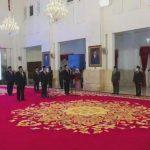 Jokowi Lantik Anggota Ombudsman RI Periode 2021-2026