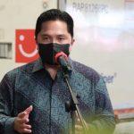 Menteri Erick Thohir Buka Peluang BUMN Masuk ke Ekosistem Mata Uang Digital
