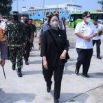 Ketua DPR dan Kapolri Tinjau Sekatan Mudik di Bandara hingga Tol Cikampek