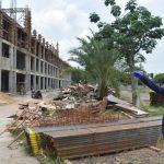 Progress Pembangunan Gedung SMA Mujahidin Pontianak Sudah 40 Persen