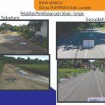 Pemkab Landak Rampungkan Rehabilitasi Ruas Jalan Sebadu-Sompak