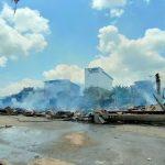 Pasar Sandai Kebakaran, 19 Ruko Ludes Terbakar
