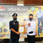 Polisi Malaysia ini Terima Penghargaan Wali Kota Pontianak